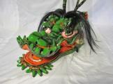 【蛇頭】雄型蛇頭(緑)